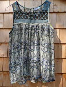 Anthropologie Patrons of Peace Tunic